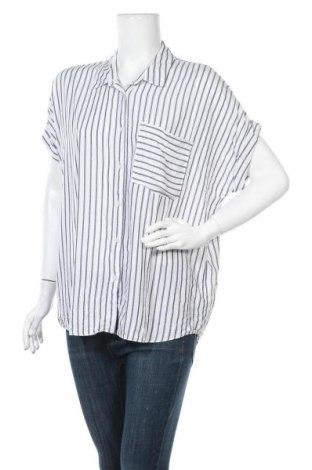Γυναικείο πουκάμισο Yessica, Μέγεθος XL, Χρώμα Λευκό, 72% βισκόζη, 28% πολυεστέρας, Τιμή 11,11€