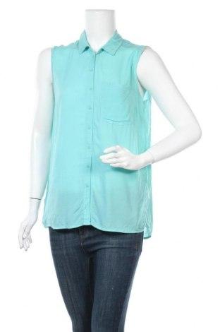 Γυναικείο πουκάμισο Yfl Reserved, Μέγεθος M, Χρώμα Πράσινο, Τιμή 9,38€
