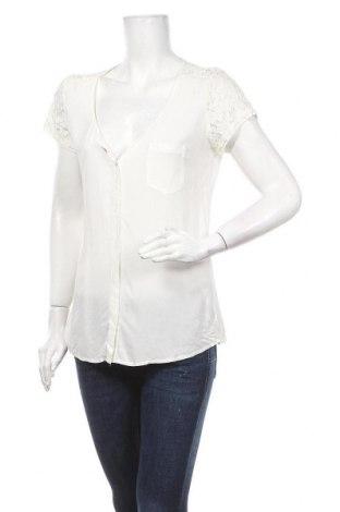 Дамска риза Zebra, Размер M, Цвят Бял, Вискоза, Цена 15,96лв.