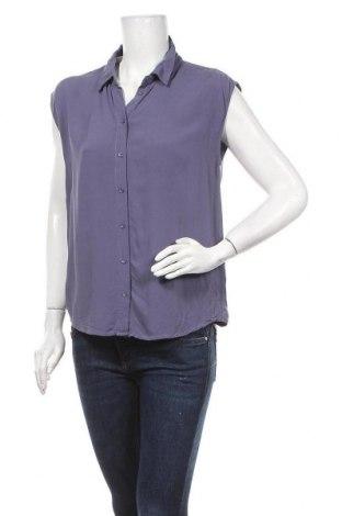 Дамска риза Zebra, Размер M, Цвят Лилав, Вискоза, Цена 6,30лв.
