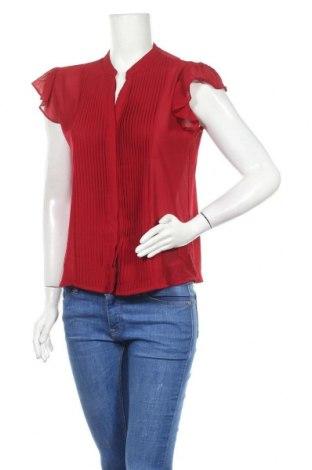 Γυναικείο πουκάμισο Zuiki, Μέγεθος L, Χρώμα Κόκκινο, Πολυεστέρας, Τιμή 9,94€
