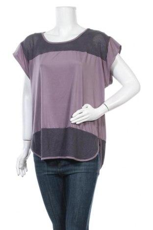 Дамска спортна блуза Champion, Размер XL, Цвят Лилав, 88% полиестер, 12% еластан, Цена 13,44лв.