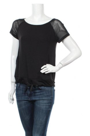 Дамска спортна блуза Ergee, Размер XS, Цвят Черен, 92% полиестер, 8% еластан, Цена 8,93лв.