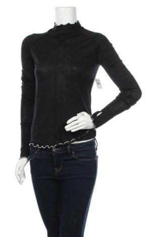 Γυναικεία αθλητική μπλούζα Free People, Μέγεθος M, Χρώμα Μαύρο, 93% lyocell, 7% ελαστάνη, Τιμή 16,08€
