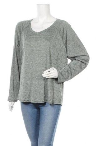 Γυναικεία αθλητική μπλούζα Rbx, Μέγεθος XL, Χρώμα Πράσινο, Πολυεστέρας, Τιμή 8,64€