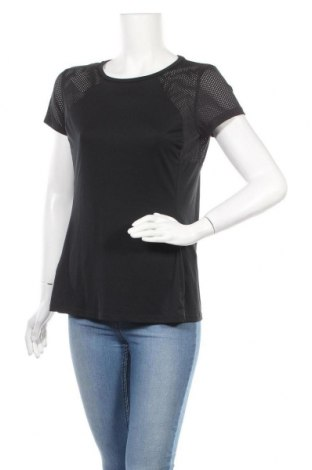 Дамска тениска, Размер M, Цвят Черен, Цена 17,64лв.