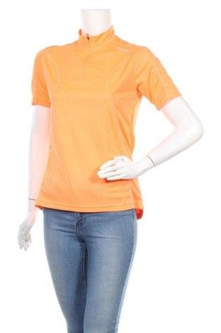 Дамска тениска, Размер S, Цвят Оранжев, Полиестер, Цена 4,46лв.