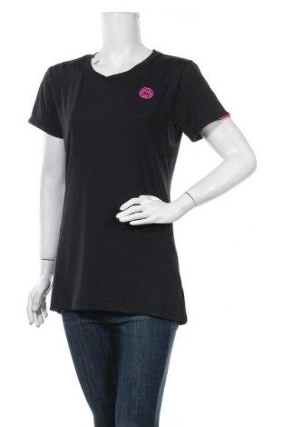 Дамска тениска, Размер XL, Цвят Черен, 88% полиестер, 12% еластан, Цена 7,56лв.