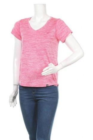 Дамска тениска, Размер S, Цвят Розов, Полиестер, Цена 12,60лв.