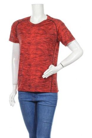 Дамска тениска, Размер L, Цвят Червен, 89% полиестер, 11% еластан, Цена 13,44лв.