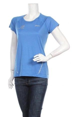 Дамска тениска ASICS, Размер M, Цвят Син, Цена 15,02лв.