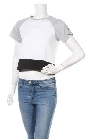 Дамска тениска ASICS, Размер L, Цвят Многоцветен, 65% полиестер, 35% памук, Цена 14,40лв.