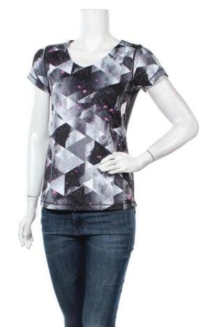 Дамска тениска Active, Размер S, Цвят Многоцветен, Полиестер, еластан, Цена 14,28лв.