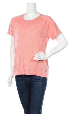 Дамска тениска Active By Tchibo, Размер L, Цвят Оранжев, 61% полиестер, 39% полиамид, Цена 10,92лв.