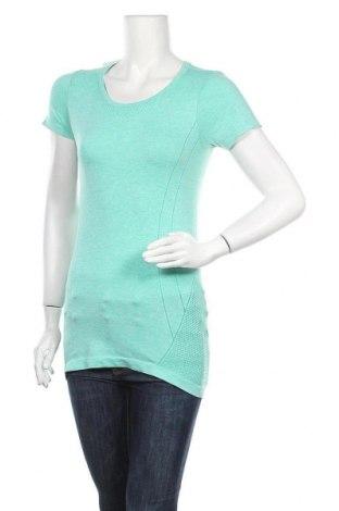 Дамска тениска Active By Tchibo, Размер XS, Цвят Зелен, 61% полиестер, 39% полиамид, Цена 11,76лв.