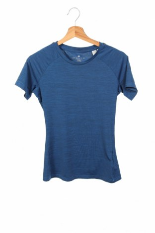 Дамска тениска Adidas, Размер XS, Цвят Син, 89% полиестер, 11% еластан, Цена 16,38лв.