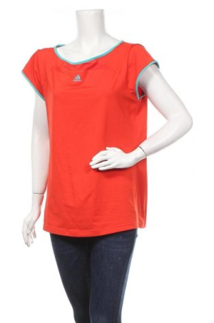 Дамска тениска Adidas, Размер L, Цвят Червен, Цена 24,99лв.