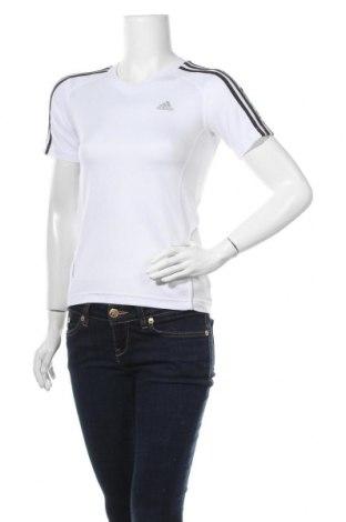 Дамска тениска Adidas, Размер XS, Цвят Бял, Полиестер, Цена 21,95лв.