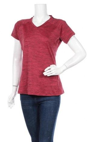 Дамска тениска Adidas, Размер L, Цвят Червен, 89% полиестер, 11% еластан, Цена 10,08лв.