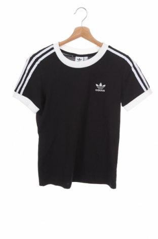 Дамска тениска Adidas Originals, Размер XS, Цвят Черен, Памук, Цена 51,75лв.