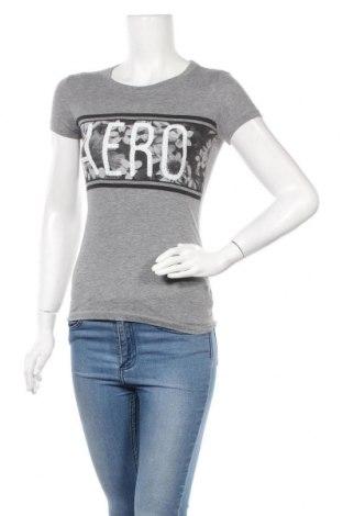 Γυναικείο t-shirt Aeropostale, Μέγεθος XS, Χρώμα Γκρί, 60% βαμβάκι, 40% πολυεστέρας, Τιμή 4,68€