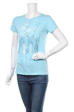 Γυναικείο t-shirt Aeropostale, Μέγεθος L, Χρώμα Μπλέ, 60% βαμβάκι, 40% πολυεστέρας, Τιμή 10,39€