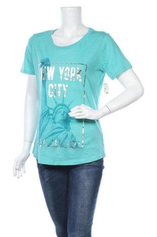Γυναικείο t-shirt Aeropostale, Μέγεθος L, Χρώμα Πράσινο, 60% βαμβάκι, 40% πολυεστέρας, Τιμή 8,45€