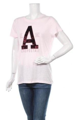 Γυναικείο t-shirt Aeropostale, Μέγεθος XL, Χρώμα Ρόζ , 60% βαμβάκι, 40% πολυεστέρας, Τιμή 5,20€