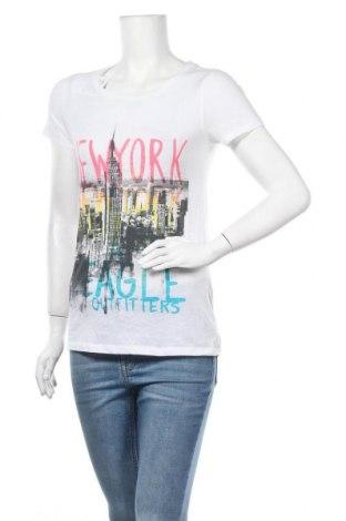 Γυναικείο t-shirt American Eagle, Μέγεθος S, Χρώμα Λευκό, 60% βαμβάκι, 40% πολυεστέρας, Τιμή 11,04€