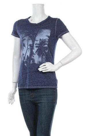 Γυναικείο t-shirt American Eagle, Μέγεθος M, Χρώμα Μπλέ, 60% πολυεστέρας, 28% βαμβάκι, 12% βισκόζη, Τιμή 9,09€