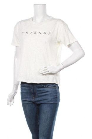 Γυναικείο t-shirt American Eagle, Μέγεθος S, Χρώμα  Μπέζ, Βαμβάκι, Τιμή 13,45€