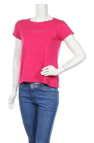 Дамска тениска Anna Justper, Размер M, Цвят Розов, Памук, Цена 14,28лв.