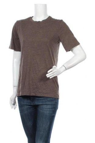 Γυναικείο t-shirt Arizona, Μέγεθος L, Χρώμα Καφέ, 60% βαμβάκι, 40% πολυεστέρας, Τιμή 11,69€