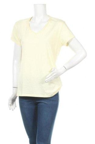 Γυναικείο t-shirt Artime, Μέγεθος XXL, Χρώμα Κίτρινο, 95% βαμβάκι, 5% ελαστάνη, Τιμή 9,38€