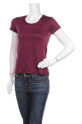 Дамска тениска Athleta, Размер S, Цвят Лилав, 93% полиестер, 7% еластан, Цена 15,12лв.