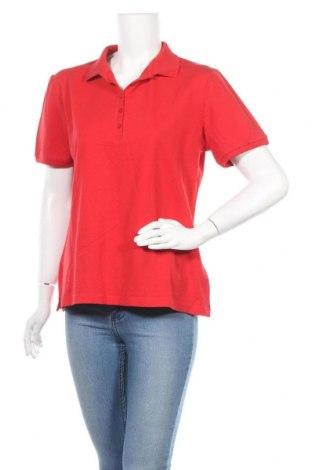 Дамска тениска B.C. Best Connections, Размер XL, Цвят Червен, 95% памук, 5% еластан, Цена 15,75лв.