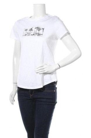 Γυναικείο t-shirt Banana Republic, Μέγεθος S, Χρώμα Λευκό, Βαμβάκι, Τιμή 30,54€
