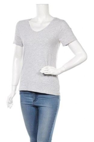 Γυναικείο t-shirt Blue Motion, Μέγεθος M, Χρώμα Γκρί, 90% βαμβάκι, 5% βισκόζη, 5% ελαστάνη, Τιμή 11,69€