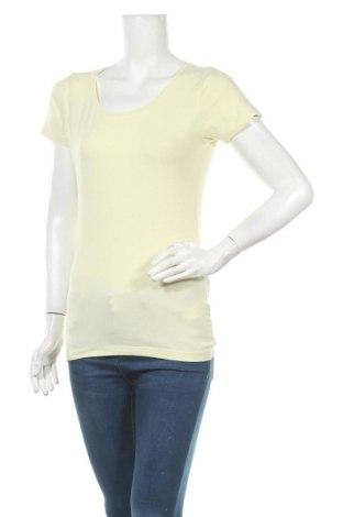 Γυναικείο t-shirt Broadway, Μέγεθος L, Χρώμα Κίτρινο, 92% βαμβάκι, 8% ελαστάνη, Τιμή 9,25€