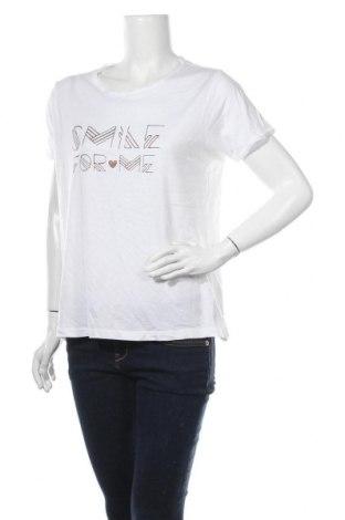 Γυναικείο t-shirt Broadway, Μέγεθος XL, Χρώμα Λευκό, Τιμή 9,25€