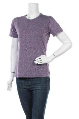 Γυναικείο t-shirt Brooks, Μέγεθος M, Χρώμα Βιολετί, Πολυεστέρας, Τιμή 9,38€