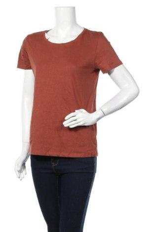 Γυναικείο t-shirt C&A, Μέγεθος M, Χρώμα Καφέ, Βαμβάκι, Τιμή 11,69€