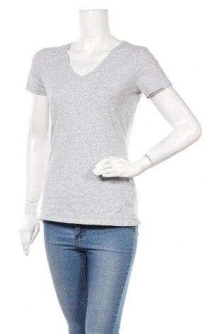 Γυναικείο t-shirt C&A, Μέγεθος M, Χρώμα Γκρί, 95% βαμβάκι, 5% ελαστάνη, Τιμή 10,39€