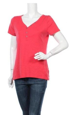 Γυναικείο t-shirt C&A, Μέγεθος L, Χρώμα Κόκκινο, Βαμβάκι, Τιμή 9,74€