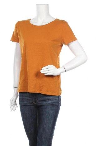 Γυναικείο t-shirt C&A, Μέγεθος M, Χρώμα Κίτρινο, Βαμβάκι, Τιμή 8,18€