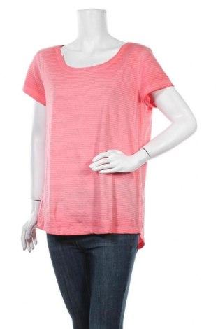 Γυναικείο t-shirt C&A, Μέγεθος L, Χρώμα Ρόζ , 78% βαμβάκι, 22% πολυεστέρας, Τιμή 9,09€