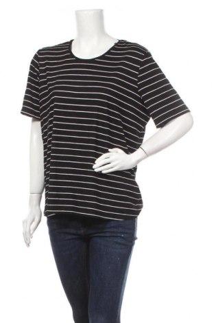 Дамска тениска Canda, Размер L, Цвят Черен, 95% вискоза, 5% еластан, Цена 17,96лв.