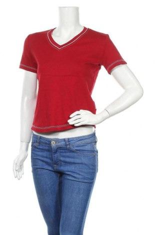 Дамска тениска Cecil, Размер S, Цвят Червен, Памук, Цена 16,96лв.