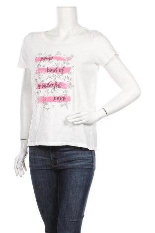 Γυναικείο t-shirt Cecil, Μέγεθος M, Χρώμα Λευκό, Βαμβάκι, Τιμή 9,09€