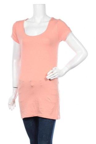 Γυναικείο t-shirt Chicoree, Μέγεθος L, Χρώμα Ρόζ , 95% βαμβάκι, 5% ελαστάνη, Τιμή 16,89€
